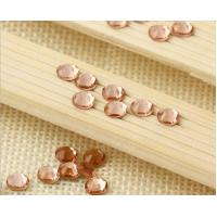 Buy cheap Peach color crystal rhinestone non hot fix stone preciosa strass from wholesalers