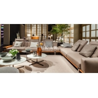 Cheap Modern Italian Sectional L Shaped Corner Fabric Couch Living Room Sofa for sale