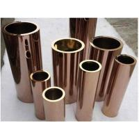 Cheap Rose Gold Square Welded Tube 316 Decorative Steel Welded Pipe 108mm OD for sale