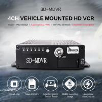 Cheap Small Size Black Video Recorder 8 Channel HD 720P SD Card MDVR With GPS 4G for sale
