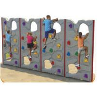 Cheap Customized Color Kids Plastic Climbing Wall For Park Environmental Protection for sale