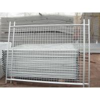 Cheap Temporary Fencing panels 1800mm height x 2400mm hot dipped galvanized After Faberation for sale
