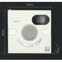Cheap Hot sales quran Wall Speaker Switch Design AUX Multi-functional Stereo With FM TF Card USB Time Display MP3 for sale