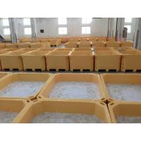 Cheap 660L  Euro Rotomolding cooler fish totes and fish container frozen fish holding bin fish ice cooler box for sale