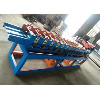 Cheap Slats Profile Rolling Shutter Strip Making Machine / Forming Machine Fly Saw Cutting for sale