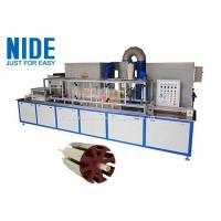 China Servo Epoxy Powder Coating Machine With The Touch Screen For Armature Rotor on sale
