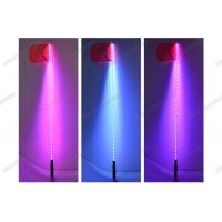 Cheap Fiber Optic Light Whip With Remote Control , RGB Quick Light Whips With Flag for sale