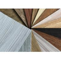 Cheap Non Toxic LVT Wood Flooring , Dry Back Contemporary Vinyl Flooring With Wear Layer for sale