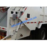 China HOWO Steyr 6x4 Compressible Waste Management Garbage Truck Hydraulic Arm System on sale