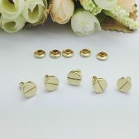 Cheap Direct Custom Metal Rivet Buttons , Decorative Zinc Alloy Jean Buttons And Rivets for sale