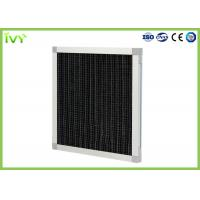 Cheap Pleated Activated Carbon Air Filter Max Operating Temperature 70°C High Efficiency for sale