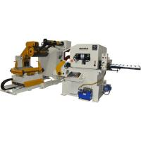 Cheap Metal Coil Processing Nc Servo Roll Feeder With Loading Trolley For Sheet / Plastic for sale