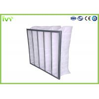 Cheap Eco Friendly Bag Air Conditioner Filters , Bag Filters For HVAC Efficiency G3 - F9 for sale