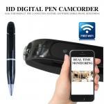 720P WIFI Pen Hidden Spy Camera Covert Video Recorders P2P Cam Mini DV video