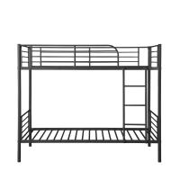 Cheap Customizable Black Pipe Bed Frame , Metal Pipe Bunk Bed 1910*915*1650  Mm for sale