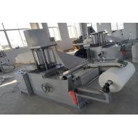 Cutting Sheet Folding Machine , 5kw 4.2m Nonwoven Fabric Folding Machine