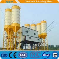 Cheap TSKY MS3000 Mixer 4x20m3 Stationary Batching Plant for sale