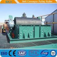 Buy cheap Conveyor Pulley Motorized Driving Pulley Drum With Rubber Lagging DIN, AFNOR, from wholesalers
