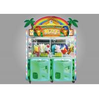 Cheap Scissors Man Arcade Claw Machine / 350W Kids Claw Machine With LED Lighting Effect for sale