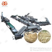 Cheap Factory Price Full Automatic Sweet Frozen French Fries Frying Processing Line Plant Potato Chips Making Machine for Sale for sale