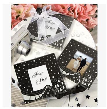 Quality New creative promotion gift product wedding gift photo frame cushion coaster wholesale