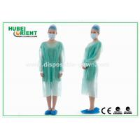 Disposable Protective Sterilized Surgical Gown / Disposable Isolation Gown with Knitted Wrist
