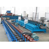Flying Cutting C Channel Roll Forming Machine , 15-30m/min Channel Rolling Machine