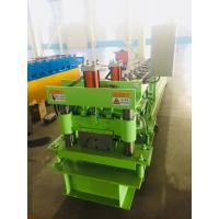 Cheap Hydraulic Ridge Cap Roofing Roll Forming Machine Cap Roof Machine With 3kw Motor Power for sale