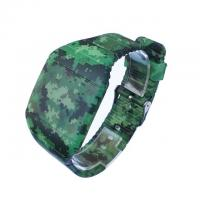 China Non - Fade 3D Print  LED Men Digital Wrist Watches With Pattern , Military LED Watch on sale