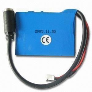 Cheap 3.7V 650mAh Li-ion Battery Pack for sale