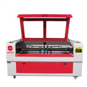 4 Head Fabric Laser Cutting Machine , Inter - Moving CNC Laser Cutter