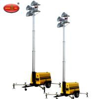 Buy cheap MO-1100Q Portable Mobile Balloon Light Tower Diesel Generator from wholesalers