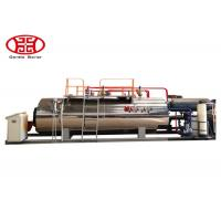 Cheap 1 T/H Industrial Fire Tube Natural Gas Boiler , Diesel Oil Dual Fuel Fired Steam Boiler for sale