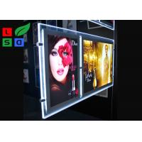 Cheap Double Graphic LED Light Box Panels , DC 12V Advertising Light Box For Window Display for sale