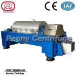 Continuous Titanium Decanter Centrifuges / Sludge Dewatering Centrifuge Manufactures