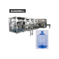 Cheap 900BPH Drinking Water Bottle Rinsing Filling Capping Machine Corrosion Resistant for sale