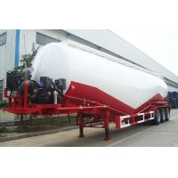 Cheap 50m3 cement bulker 3 axle bulk cement tanker trailer hot sale for sale