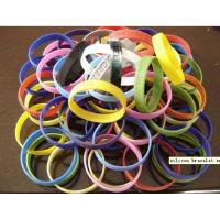 Cheap silicone wirstband with logo. Promotional silicon gifts supplier for sale