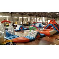 Buy cheap Durable 0.9mm PVC Tarpaulin Inflatable Floating Water Park For Adult & Kids from wholesalers