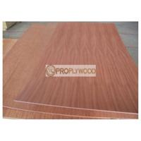 Cheap Sapele Face Poplar Core Plywood for Forniture and Construction/2mm-30mm/few splinter after cutting for sale