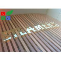 AC 100 - 245V LED Channel Letter Signs Energy Saving For Decoration Signature