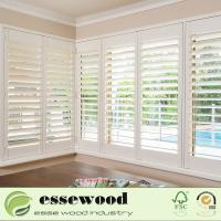 Cheap Z Frame 2.5 Inch High Quality Wooden Plantation Shutters for sale