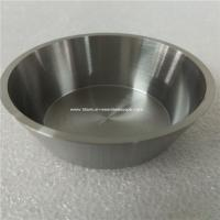 Cheap 1pc 99.96% purity Tungsten crucible,OD 52mm,Thick 2mm,hight 25mm for sale