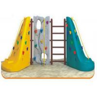 Cheap 1-3 People Use Plastic Climbing Wall Corrosion Resistant OEM / ODM Available for sale