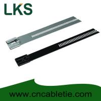 Cheap PVC coated Ladder Type Stainless Steel Cable Ties for sale