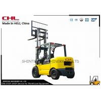 China 4.0T counterbalance forklift truck / loading forklift with Gasoline Engine on sale