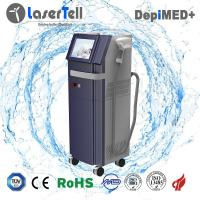 Cheap Permanent 808nm Diode Laser Hair Removal Machine with Single Pulses 75kgs for sale