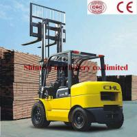 Cheap 4.5Ton Powered Gasoline Forklift , Single / Dual Fuel Forklift Truck With 4250mm Lifting Height for sale