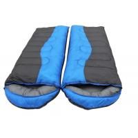 Cheap Wide Big Jointed Silk Outdoor Sleeping Bags For Double Person Cold Weather for sale