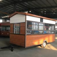 Cheap Rust Resistant Protective Coating Hot Dog Concession Trailer CE Certification for sale